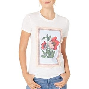 NWT Lucky Brand Poppies Tee Graphic T-shirt